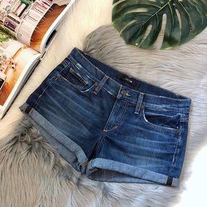 Joe'a Jeans | Distressed Loretta Roll Up Shorts